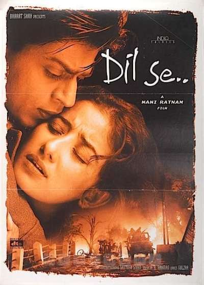 Image result for dil se poster