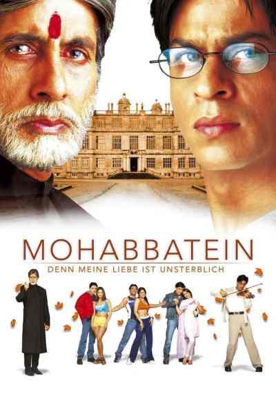 मोहब्बतें movie poster