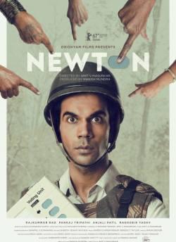 न्यूटन movie poster
