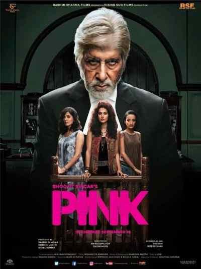 पिंक movie poster