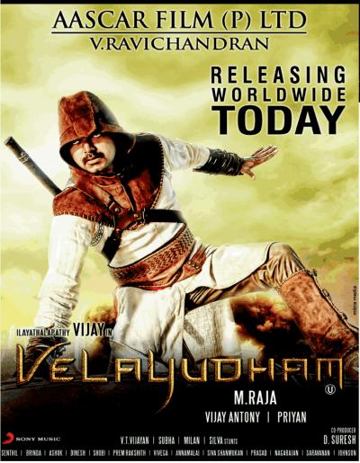 Velayudham movie poster