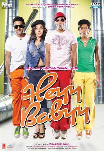 Heyy Babyy movie poster