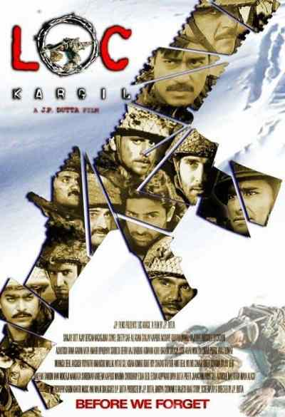 एल ओ सी कारगिल movie poster