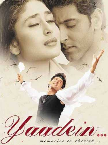 Yaadein movie poster