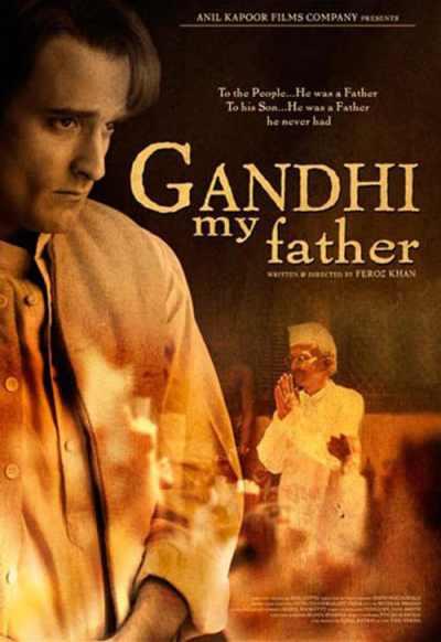 Gandhi My Father movie poster