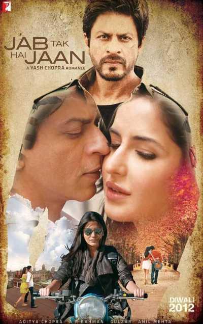 Jab Tak Hai Jaan movie poster