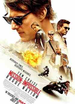 Mission Impossible: Rogue Nation movie poster