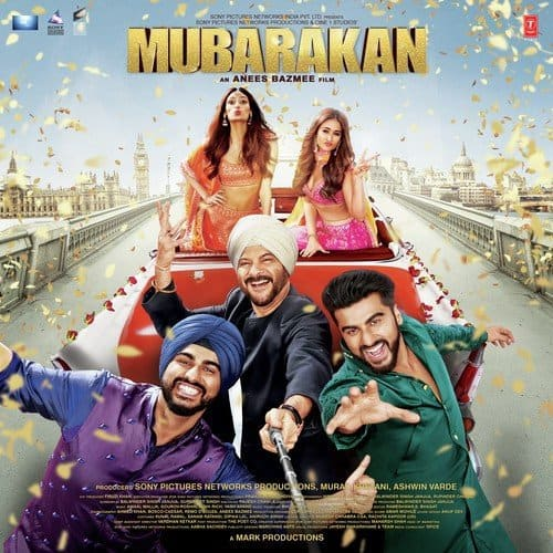 Mubarakan Title Song album artwork