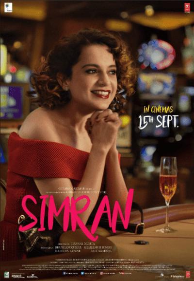Simran movie poster
