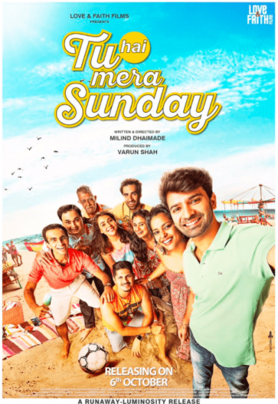Tu Hai Mera Sunday movie poster