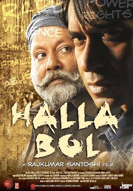 Halla Bol movie poster