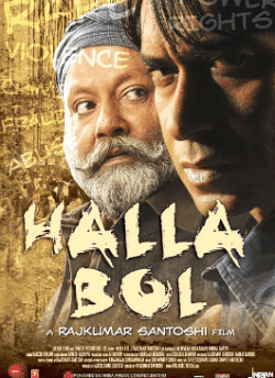 Halla Bol movie poster