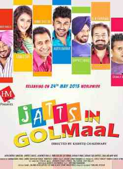 Jatts in Golmaal movie poster
