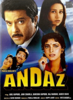 Andaz movie poster