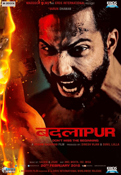 बदलापुर movie poster