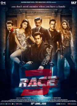 Race 3 movie poster