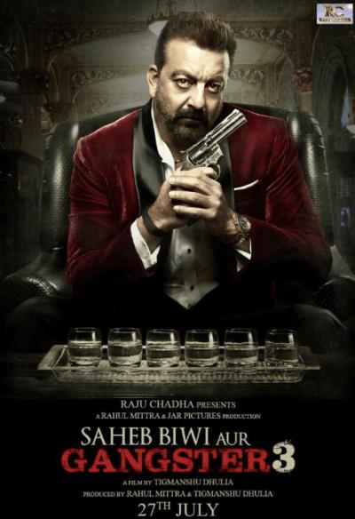 Saheb Biwi Aur Gangster 3 movie poster