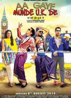 Aa Gaye Munde U.K. De movie poster