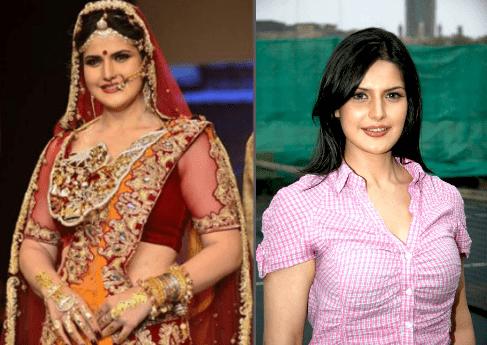 Zareen Khan Fat to Fit