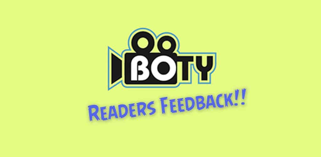 boty readers feedback