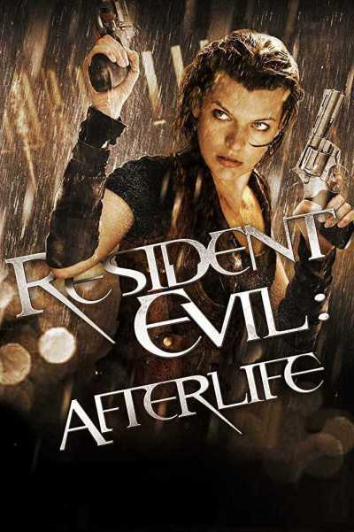 Resident Evil : Afterlife movie poster