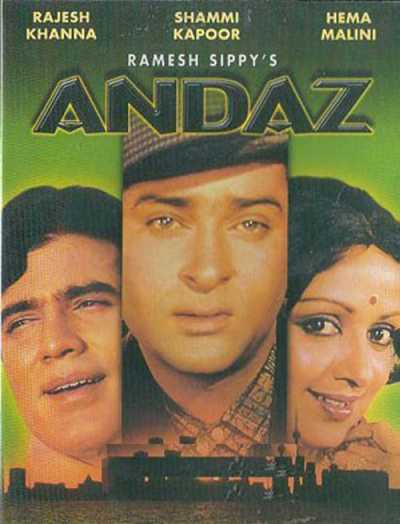 Andaz movie poster