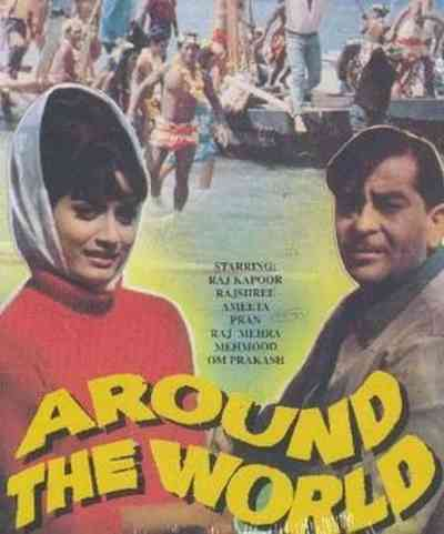 Around The World movie poster