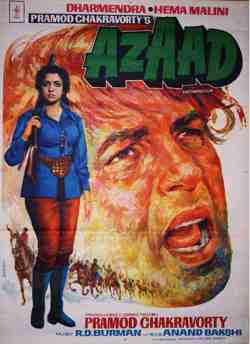 Azaad movie poster