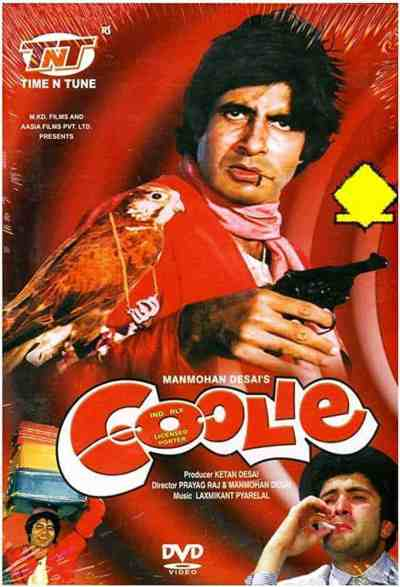 Coolie movie poster