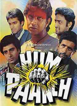 Hum Paanch movie poster