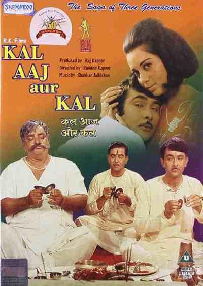 Kal Aaj Aur Kal movie poster
