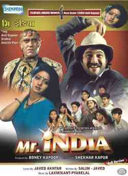 Mr. India movie poster