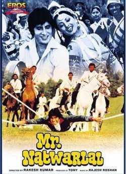 Mr. Natwarlal movie poster