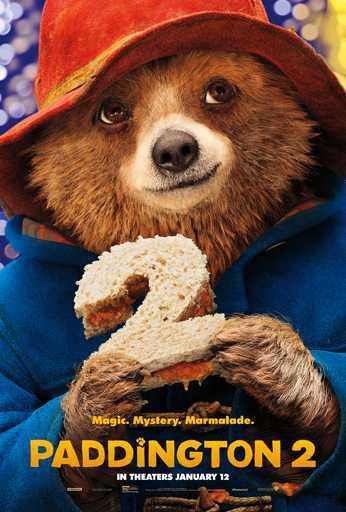 Paddington 2 movie poster