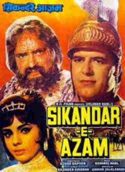 Sikander E Azam movie poster