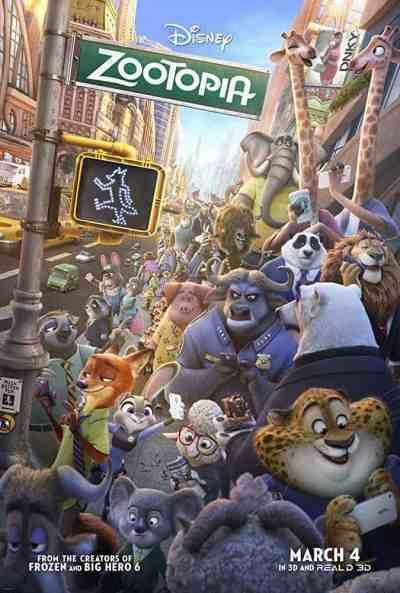 जूटोपिया movie poster