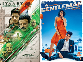 Aiyaary vs. A Gentleman Day Wise Comparison