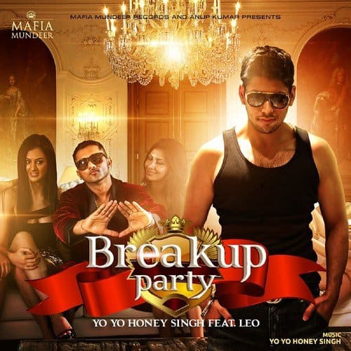 Breakup Party album artwork