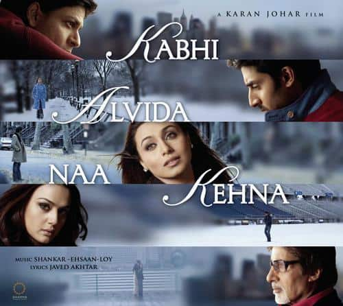 Kabhi Alvida Naa Kehna Title Track album artwork