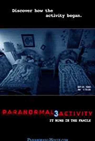 पैरानॉर्मल एक्टिविटी 3 movie poster