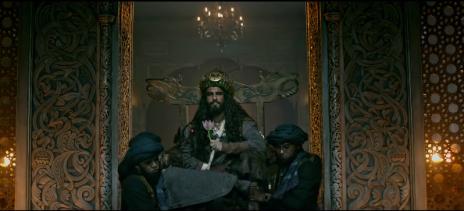 Ranveer Singh as Khilji in Padmaavat
