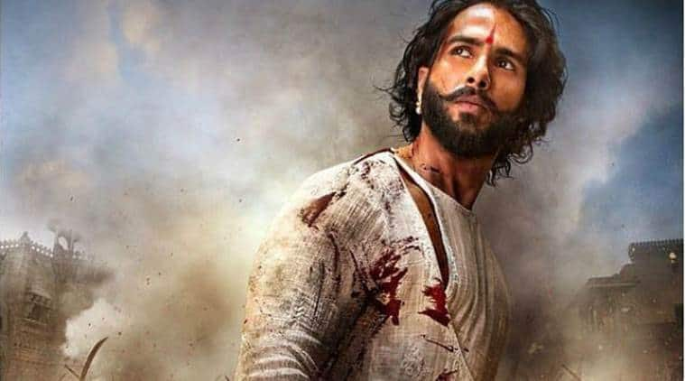 shahid Kapoor in movie Padmaavat