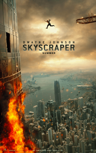 स्काइस्क्रैपर movie poster