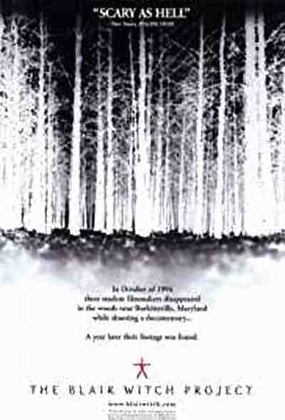 The Blair Witch Project movie poster
