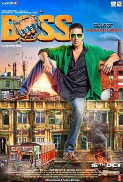 बॉस movie poster