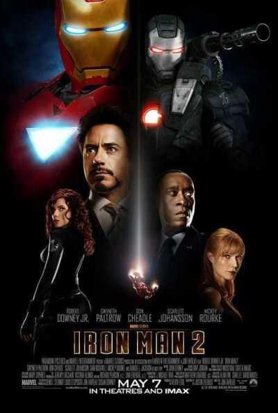 आयरन मैन 2 movie poster