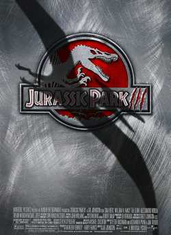Jurassic Park III movie poster