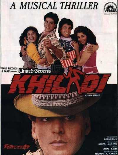 Khiladi movie poster