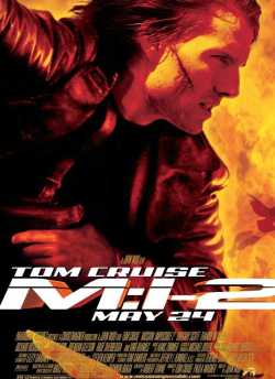 Mission: Impossible II movie poster