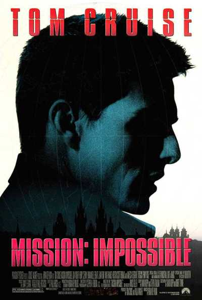 मिशन इम्पॉसिबल movie poster